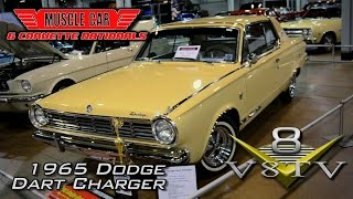 1965 Dodge Dart Charger at the Muscle Car and Corvette Nationals Video V8TV