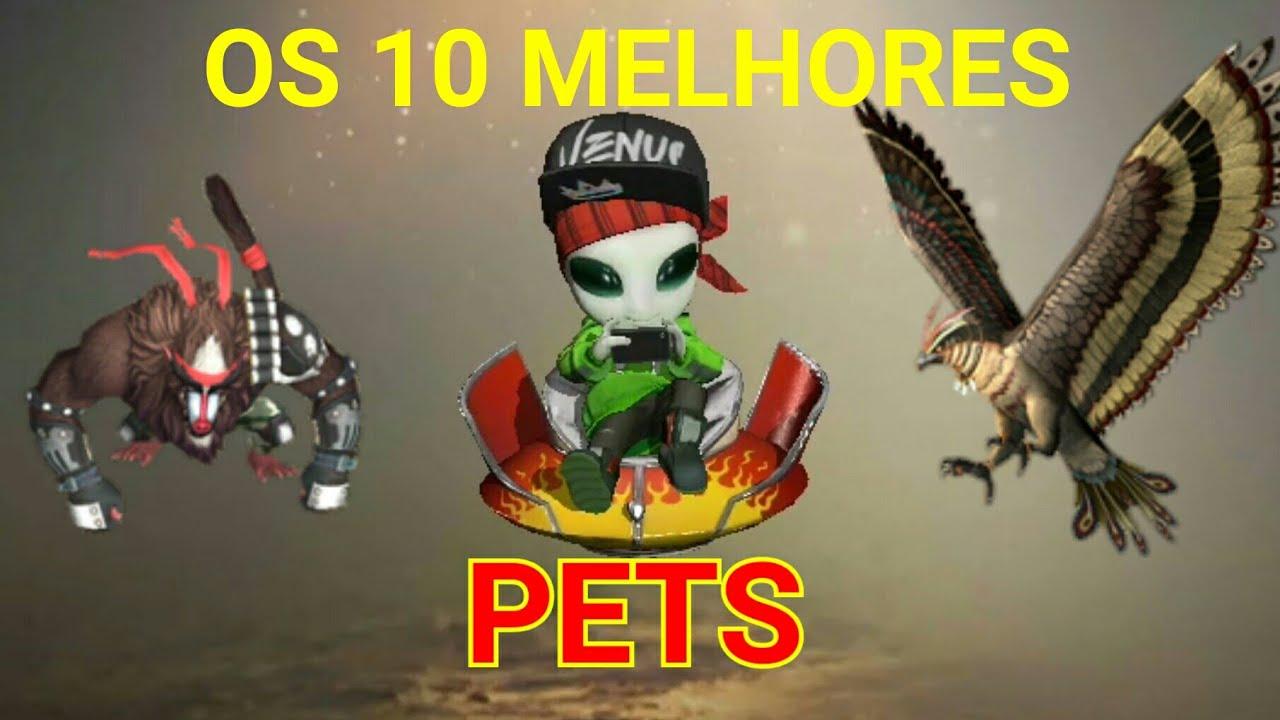 AS 10 MELHORES HABILIDADES DE PETS DO FREE FIRE