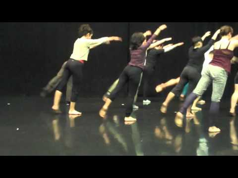 Guest Artist Kathleen Fisher from Trisha Brown Dance Company at CalArts