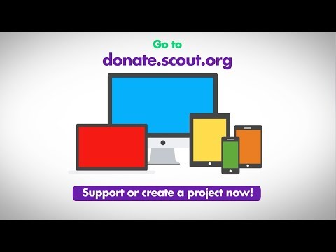The Scout Donation Platform is here!