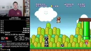 (13:59.72) Super Mario Bros.: The Lost Levels any% D-4 (Mario) speedrun *World Record*