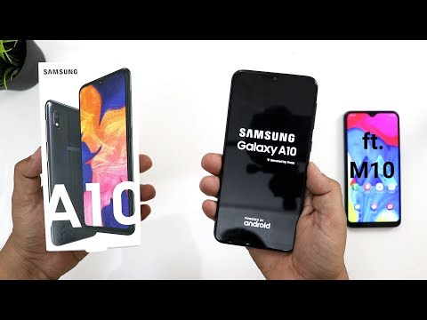 Samsung Galaxy A10 Unboxing And Review,Samsung A10 Vs M10 Comparison
