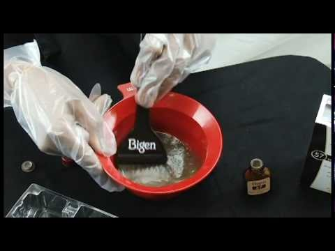 how to use bigen permanent powder - Bigen Hair Color Chart