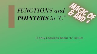Functions and Pointers in C thumbnail