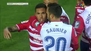Golazo de Sergio Peña (2-0) Granada CF vs CD Tenerife