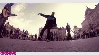 BLOO dancing on the streets of Novi Sad II DJ Premier - Recognize II