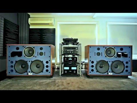 JBL 4350  Speaker Demo - McIntosh Valve MonoBlocks - Technics Modded SL1200 TurnTable