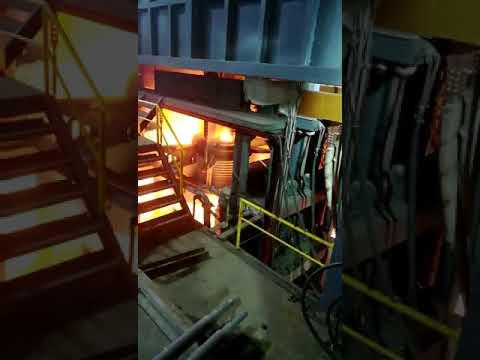 80ton Electric arc furnace melting