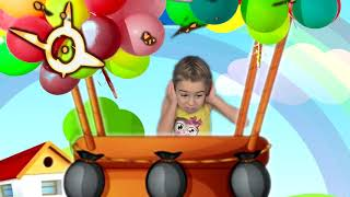 ABC Song with Balloons Nursery Rhymes & Kids Songs