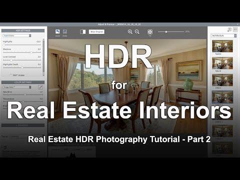 Creating HDR Real Estate Interior Photos