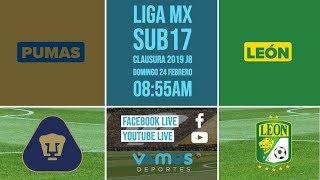 Liga MX Sub17 Clausura 2019 Jornada 8 Pumas Vs León