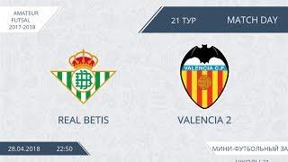 Real Betis - Valencia 2 (лучшие моменты)