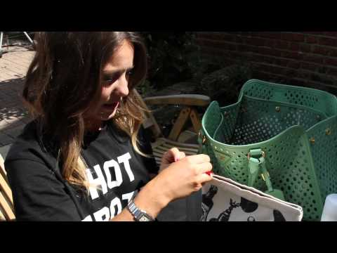 Louise Thompson hand bag rummage || Made In Chelsea special