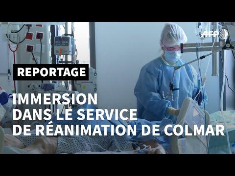 Coronavirus: immersion dans le service de réanimation de Colmar   AFP Reportage