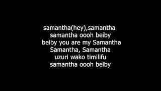 SAMANTHA LYRICS BY OTILE BROWN HD