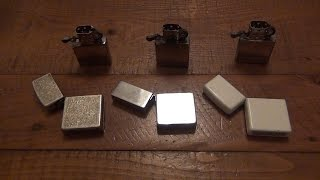 Fake Zippo Better Than The Real Lighter? Zorro Lighter Better For Zippo Tricks!!!