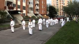 Sankukai karate - promocijski trening ob otvoritvi nove lokacije vadbe