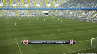 Pro Evolution Soccer 2013 (PES 13) Gameplay - Gaming Performance on MSI GE60 Notebook