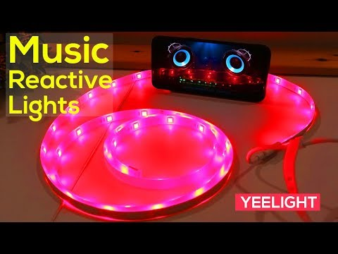 Awesome Music Reactive LED Lights