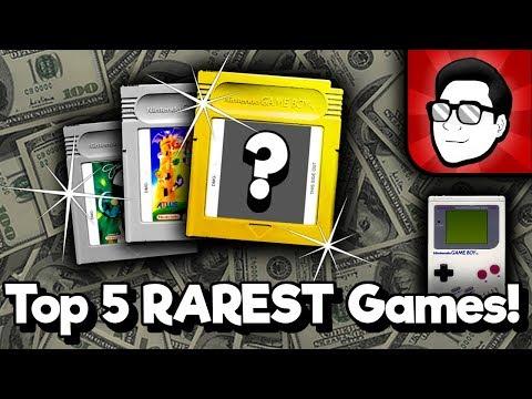 Top 5 RAREST Game Boy Games! (USA) | Nintendrew