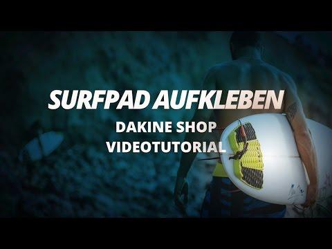 Wie klebe ich ein Surf Pad auf mein Surfboard