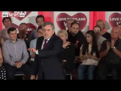 Gordon Brown: 'Tell Them This Is Our Scotland'