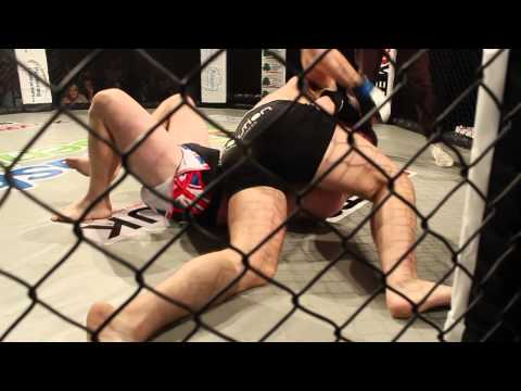 BCMMA#4 22.09.13 Andy Dent Vs  Jamie Davies - Semi Pro Featherweight Contest