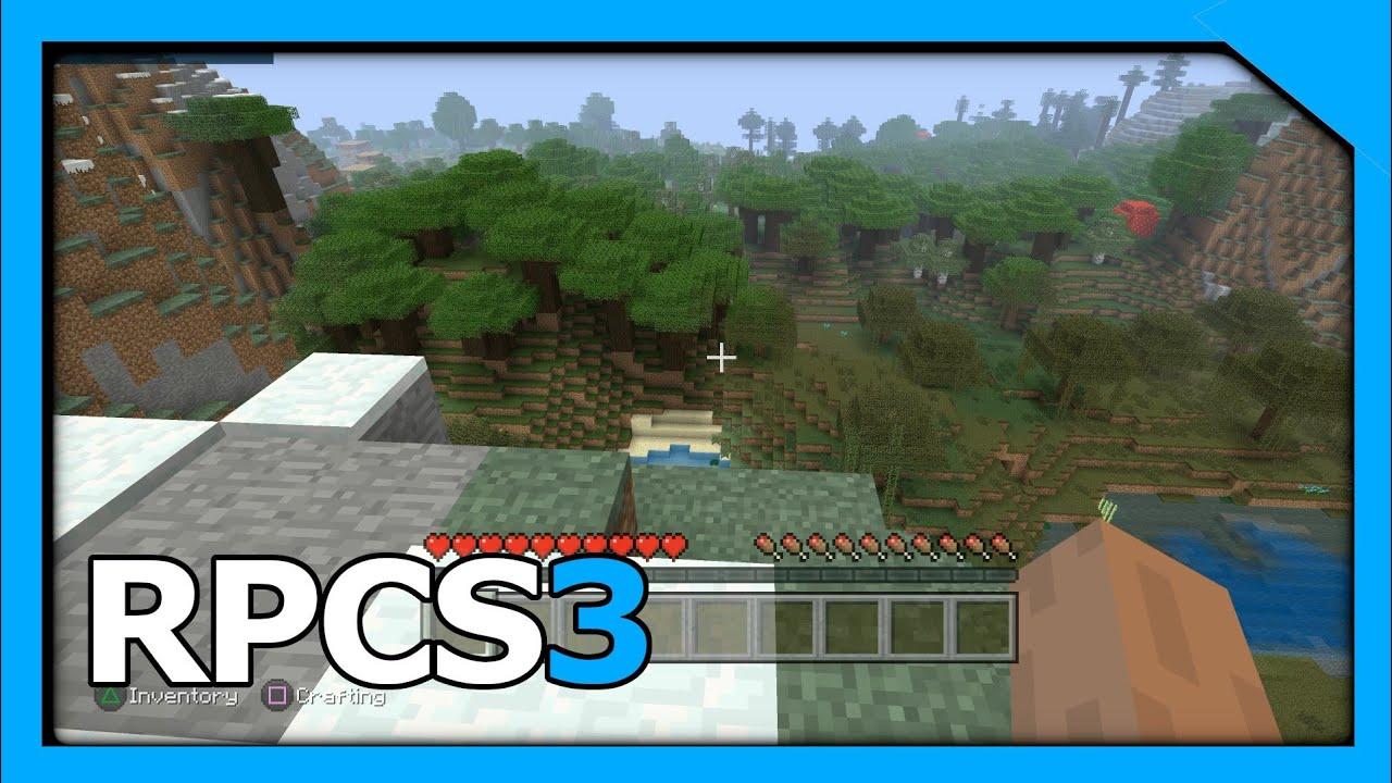 RPCS3 v0 0 6   4K IR   Minecraft   i5-8500   #2
