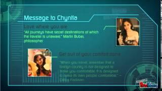 Message To Chyntia Octaviani