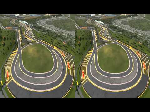 F1 CGI Indian Grand Prix 3D! - Mark Webber explains circuit
