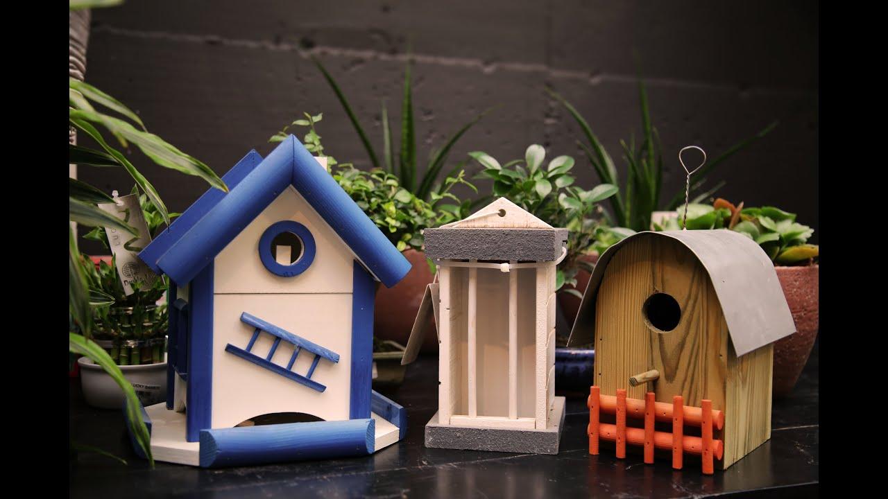 Casette e mangiatoie per uccelli liberi youtube - Casette per uccellini da costruire ...