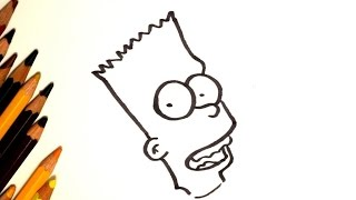 Как рисовать Барта из мультфильма Симпсоны / How To Draw Bart Simpson(Мультфильм в котором предложен простой и легкий способ, который подходит детям и взрослым, нарисовать Барт..., 2017-01-15T11:02:55.000Z)