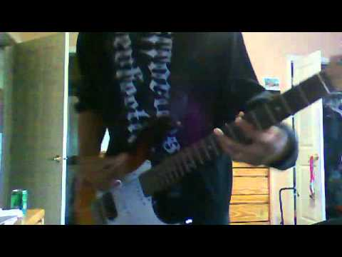 The offspring- Hit That guitar cover