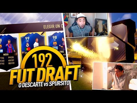 FUT DRAFT 192 O DISCARD!!!! SOLO 3 MINUTOS | vs Spursito
