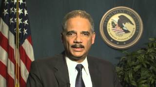 AG Eric Holder Urges Congress to Pass Bipartisan
