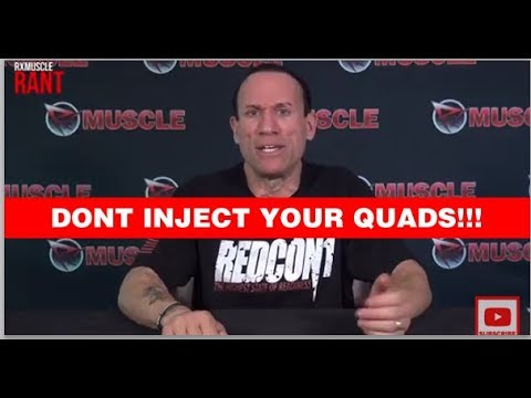 3 Reasons Quad Injections are a Real BAD IDEA #RxRant - YouTube