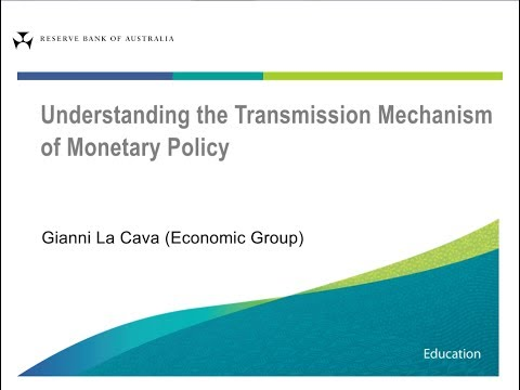 Understanding the Transmission Mechanism of Monetary Policy - Giancarlo La Cava