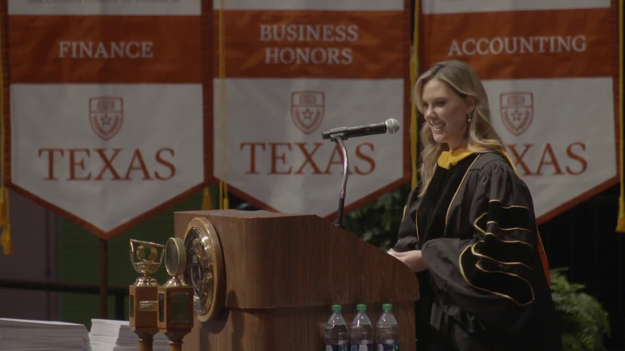 University of texas 2014 commencement speech