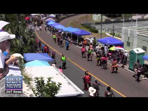 Fusion Fitness In The Bermuda Day Parade, May 26 2014