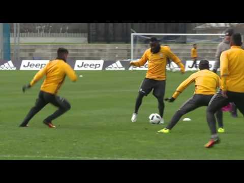 Juventus final Melbourne training session