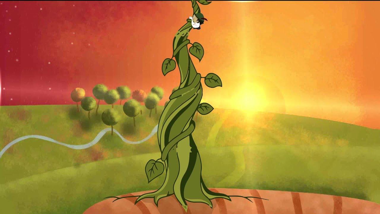 Jack and the Beanstalk short story animation - YouTube