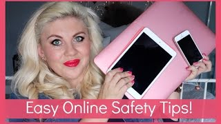 Easy Tips for Online Safety!(Online Safety! AD || Sprinkle of Glitter || Louise Pentland ***Subscribe for new videos Mon & Thurs!*** Previous Video (Reacting To My Insta!), 2016-04-06T17:03:32.000Z)