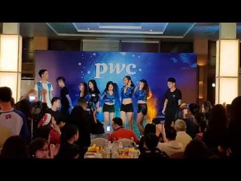PwC Hanoi - Xmas show 2017 - Sea and Boat dance