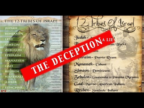 12 Tribes of Israel Chart (The Lie) on Judah