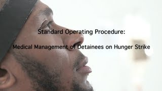 Repeat youtube video Yasiin Bey (Mos Def) demonstrates Guantanamo force-feeding Standard Operating Procedure