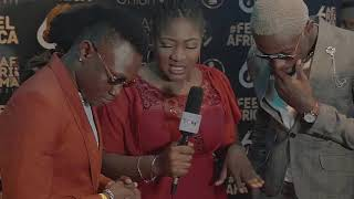 Mbosso in lagos,Nigeria ( Afrima Awards)