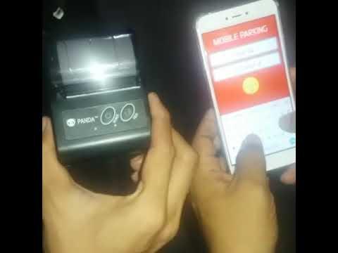 Pemasangan Aplikasi Software Mobile Cashier Parking