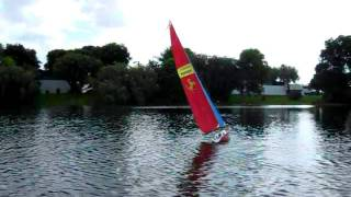 RC Ocean Going Racing Yacht 2.2 mtrs.