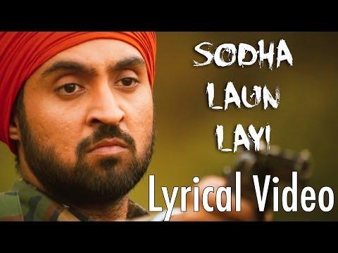 Sodha Laun Layi Full Audio Song (Lyrical Video) | Punjab 1984 | Diljit Dosanjh | Punjabi Songs