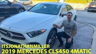 IS THE NEW 2019 MERCEDES BENZ CLS450 COUPE 4MATIC AS GOOD AS IT LOOKS?